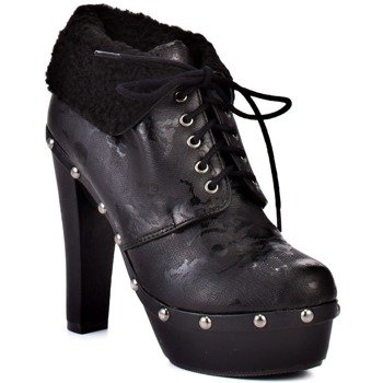 kozaczki  IRON FIST - LACEY DAYS CLOG  (BLACK)
