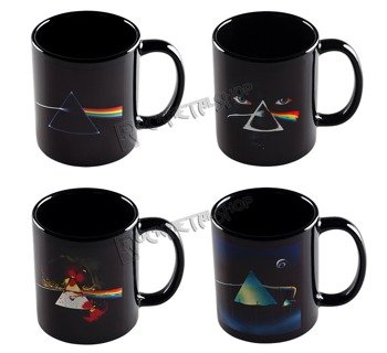 kubek PINK FLOYD - THE DARK SIDE OF THE MOON COLLECTOR'S EDITION, zestaw 4 kubków kolekcjonerskich