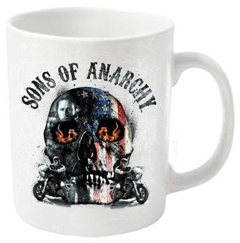 kubek SONS OF ANARCHY - FLAME SKULL