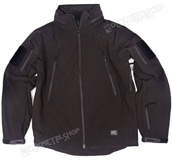 kurtka GUNFIGHTER JACKET SHARK SKIN WINDBLOCKER BLACK