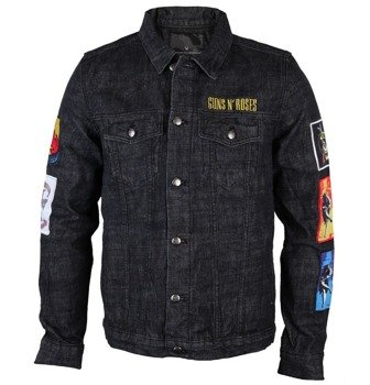 kurtka GUNS N' ROSES - CROSS DENIM JACKET