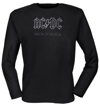 longsleeve AC/DC - BACK IN BLACK