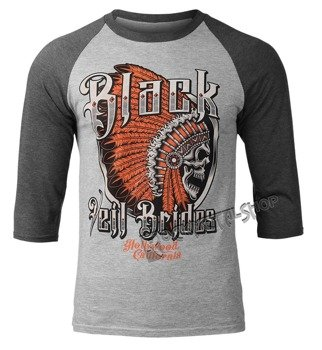 longsleeve BLACK VEIL BRIDES - CHIEFTAIN rękaw 3/4