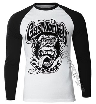longsleeve GAS MONKEY GARAGE - 04 BASEBALL
