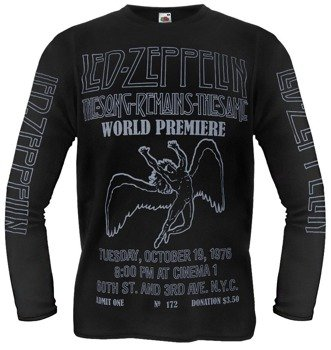 longsleeve LED ZEPPELIN - SONG REMAINS THE SAME