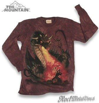 longsleeve THE MOUNTAIN - DRAGON SLAYER