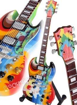 "miniaturka gitary ERIC CLAPTON - GIBSON SG ""FOOL"""