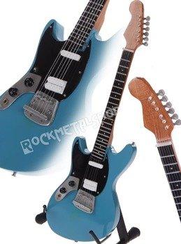 miniaturka gitary NIRVANA - KURT COBAIN: LEFT HANDED MUSTANG