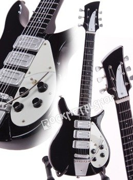 miniaturka gitary THE BEATLES - JOHN LENNON: RICKENBACKER 325