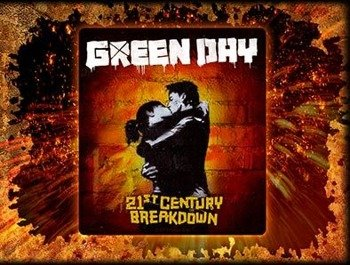 naklejka GREEN DAY - 21ST CENTURY BREAKDOWN