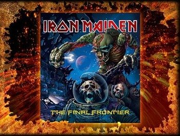 naklejka IRON MAIDEN - THE FINAL FRONTIER