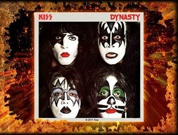 naklejka KISS - DYNASTY