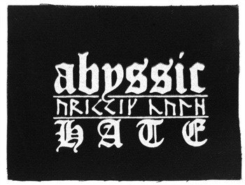 naszywka ABYSSIC HATE - LOGO