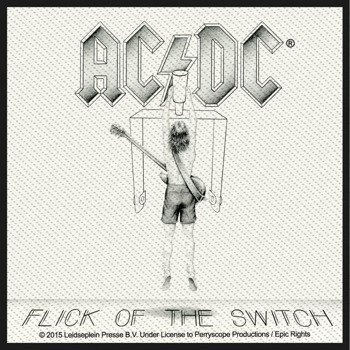 naszywka AC/DC - FLICK OF THE SWITCH