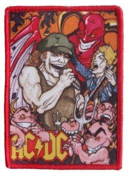 naszywka AC/DC - HELL