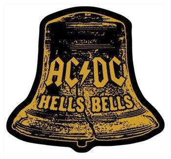 naszywka AC/DC - HELLS BELLS CUT OUT