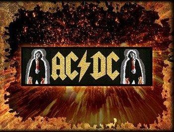naszywka AC/DC - LOGO & ANGUS POWERAGE