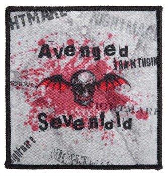 naszywka AVENGED SEVENFOLD - SKULL