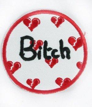 naszywka BITCH HEART