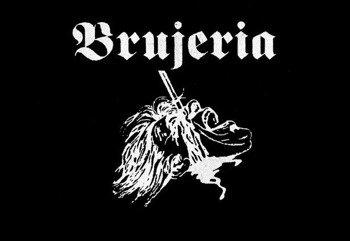 naszywka BRUJERIA - HEAD