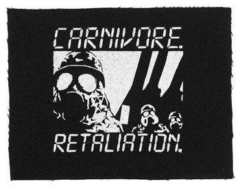 naszywka CARNIVORE - RETALIATION