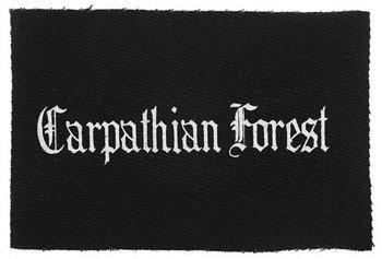 naszywka CARPATHIAN FOREST - LOGO