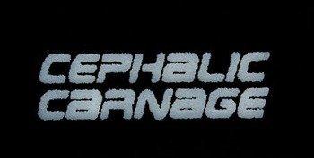naszywka CEPHALIC CARNAGE - LOGO