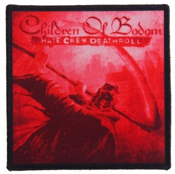 naszywka CHILDREN OF BODOM - HATE CREW DEATHROLL