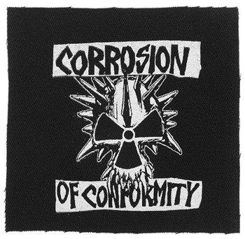 naszywka CORROSION OF CONFORMITY - SKULL