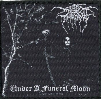 naszywka DARKTHRONE - UNDER A FUNERAL MOON