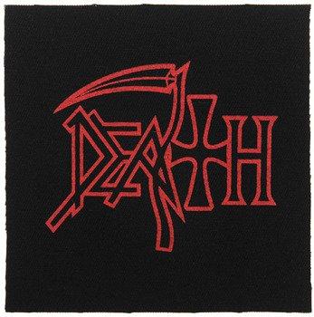 naszywka DEATH - NEW LOGO RED