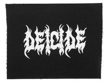 naszywka DEICIDE - LOGO WHITE
