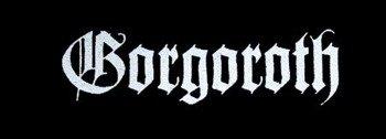 naszywka GORGOROTH - LOGO