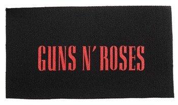 naszywka GUNS N' ROSES - LOGO RED