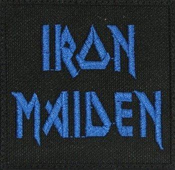 naszywka IRON MAIDEN - LOGO BLUE