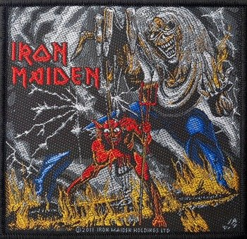 naszywka IRON MAIDEN - NUMBER OF THE BEAST