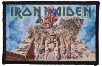 naszywka IRON MAIDEN - SOMEWHERE BACK IN TIME