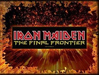 naszywka IRON MAIDEN - THE FINAL FRONTIER