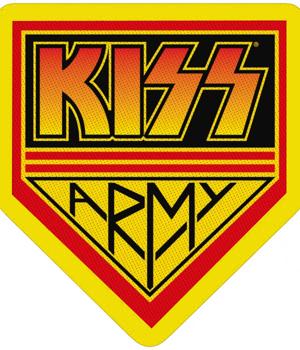 naszywka KISS - ARMY BADGE