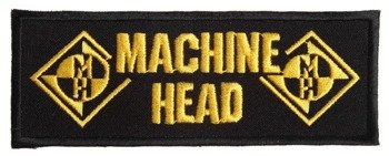 naszywka MACHINE HEAD - LOGO YELLOW