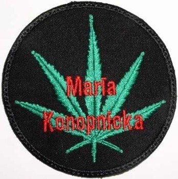 naszywka MARIA KONOPNICKA