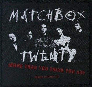 naszywka MATCHBOX TWENTY