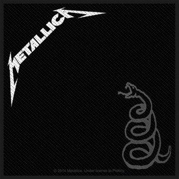 naszywka METALLICA - BLACK ALBUM