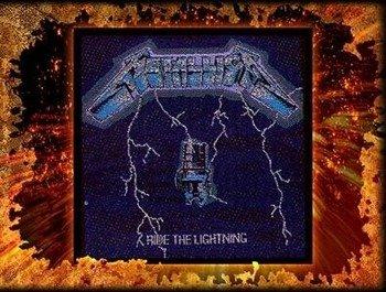naszywka METALLICA - RIDE THE LIGHTNING