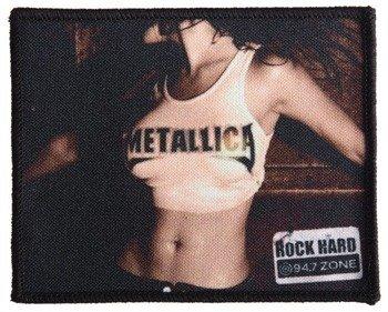 naszywka METALLICA - ROCK HARD