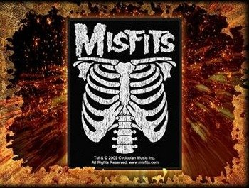 naszywka MISFITS - RIBCAGE