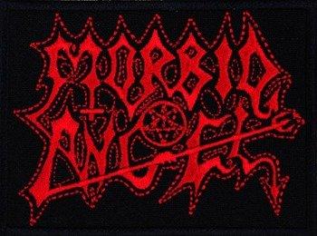 naszywka MORBID ANGEL - RED LOGO