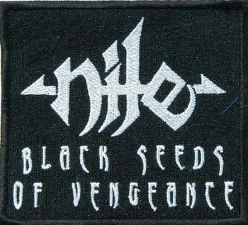 naszywka NILE - BLACK SEEDS OF VENGEANCE