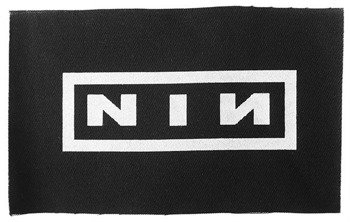 naszywka NINE INCH NAILS - LOGO NIN