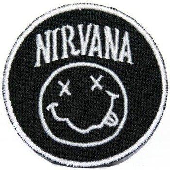 naszywka NIRVANA -  SMILEY WHITE